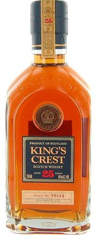 Kings Crest Scotch 25 Year 80@
